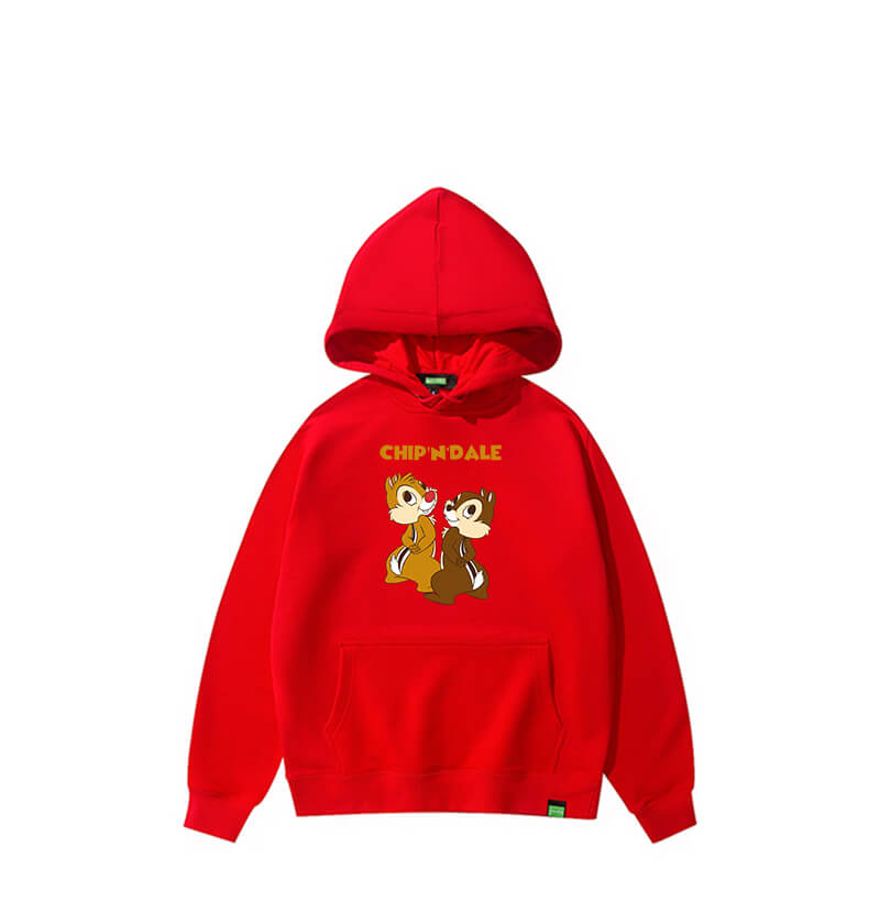 Hoodies For 28 Year Olds Disney Chip and Dale Sweatshirt