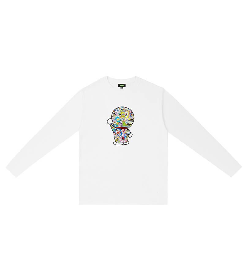 Doraemon Long Sleeve Tshirt Shirts For Teen Girls