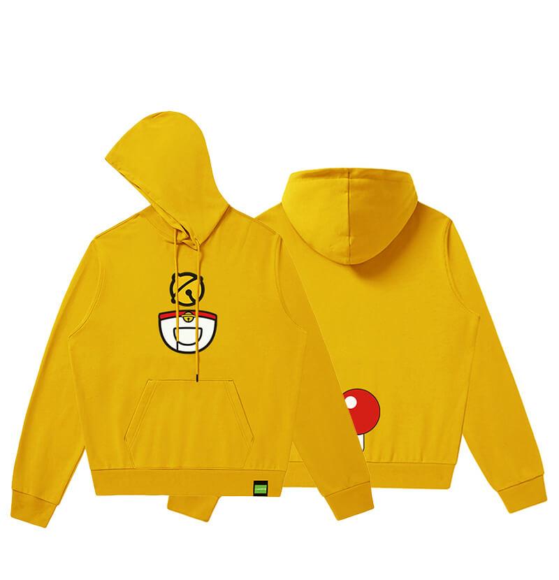 Doraemon Hooded Coat Boys Black Pullover Hoodie
