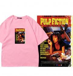 Uma Thurman Pulp Fiction Uma Thurman Tshirt life is boring Cute T Shirts For Teen Girls