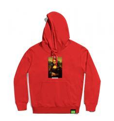 Famous Painting Mona Lisa Hoodies Youth Boys Sweatshirts