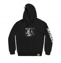 All Might Kids Black Hoodie My Hero Academia Hooded Jacket