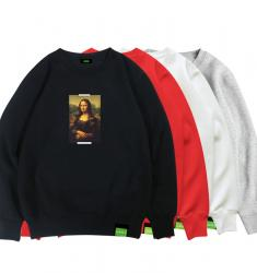 Mona Lisa Boys Hoodie Famous Painting Coat