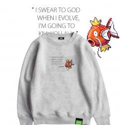 original design Magikarp Oversized Hoodie Kids Pokemon Jacket