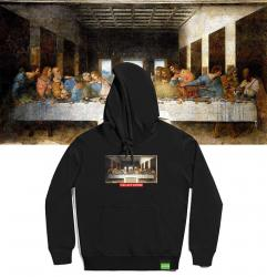 Famous Painting The Last Supper Hoodie Nice Hoodies For Boys