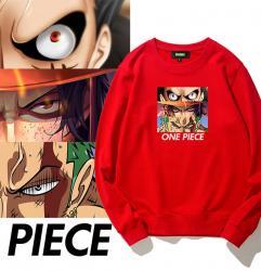 One Piece sweatshirt Roronoa Zoroand and Luffy Hoodie Teens