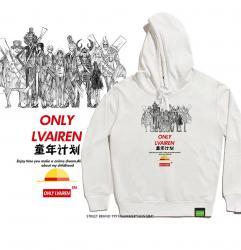 One Piece Anime hooded sweatshirt Big Boys Hoodies
