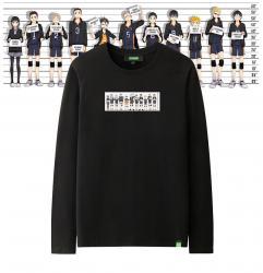 Haikyuu Yu Nishinoya Long Sleeve Tees Original Design Boys White T Shirt