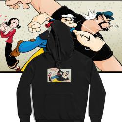 Popeye Hoodies Cool Hoodies For Girls