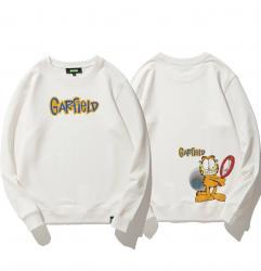 Double-sided printing Garfield Hoodies Boys Hoodie
