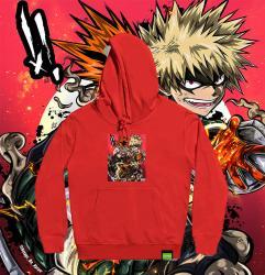 original design Katsuki Bakugo Sweatshirt For Girls My Hero Academia Hoodies