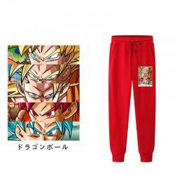 Son Goku Sweatpants Dragon Ball Super Casual Pants