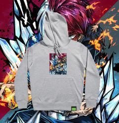 My Hero Academia Todoroki Shouto Hooded Coat original design Cool Hoodies For Teenage Girl