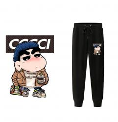 Shinnosuke Nohara Sweatpants Crayon Shin-chan Casual Pants