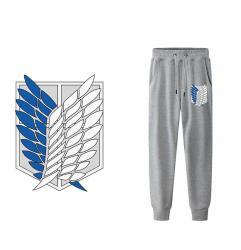 Wings of Liberty Logo Sweatpants Attack on Titan Casual Pants