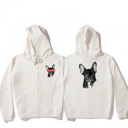Bulldog Hooded Jacket Boys Zip Up Jacket