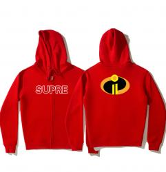 The Incredibles Hooded Jacket Hoodie Jacket For Girl