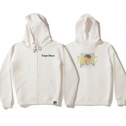 Troye Sivan Hoodie Zip Up Hoodies For Teenage Girl