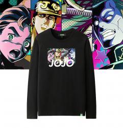 Jotaro Kujo Tee Shirt Long Sleeve JoJo's Bizarre Adventure Cute Shirts For Kids