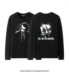 Batman Joker Long Sleeve Shirt The Dark Knight Couple T Shirt Online Shopping