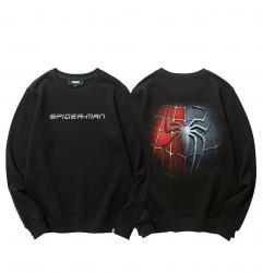 Girls Pullover Hoodie Spiderman Coat