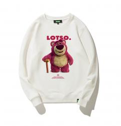 Strawberry Bear Hoodies For Teenage Guys Toy Story Jacket