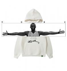 Kobe Bryant Arm Span hooded sweatshirt Kids Black Hoodie