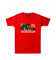 King of the Monsters Tee Godzilla Cool Shirts For Kids
