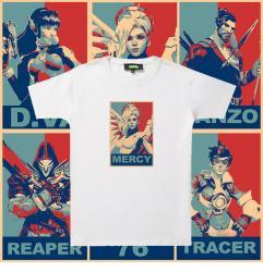 Original Design Tee Overwatch Couple T Shirt