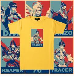 Overwatch Tees Original Design Couple Check Shirts