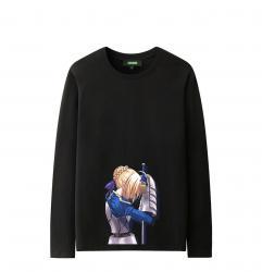 Fate Atay Night Long Sleeve Tees Cute T Shirts For Girls