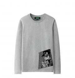 JoJo's Bizarre Adventure Long Sleeve Shirts Unique Couple Shirt Designs
