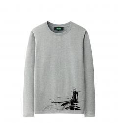 Bleach Ichigo Kurosaki Long Sleeve Shirts Original Design Cute Shirts For Girls