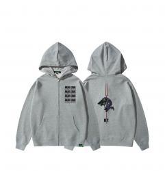 EVA Hoodies Girls Zip Up Sweatshirt