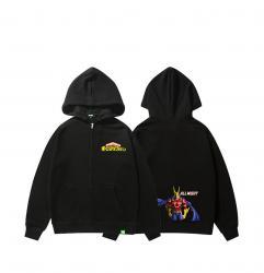 All Might Kids Zip Hoodie My Hero Academia Hoodie