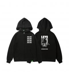 Attack on Titan Levi Jacket Youth Zip Up Hoodie