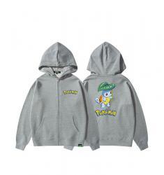 Squirtle Girls Zip Up Hoodie Pokemon Sweatshirt
