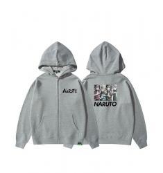 Naruto hooded sweatshirt Zip Girls Zip Up Jacket