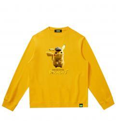 Pikachu Kids Sweatshirts Pokemon Hooded Jacket