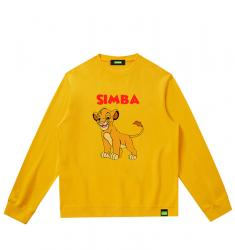 Simba Cute Couple Sweatshirts Disney The Lion King Sweatshirt