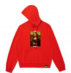 Famous Painting Da Vinci Mona Lisa Hooded Coat Boys Designer Hoodies
