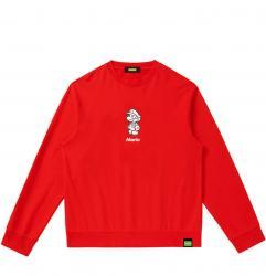 Boys Hooded Shirt Mario Sweatshirt