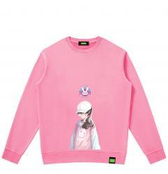 Overwatch DVA Sweater Cute Hoodies For Teenage Girl