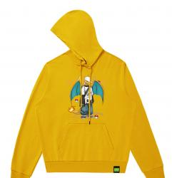 Charizard Kids Pullover Hoodie Pokemon Jacket