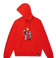 Marvel Iron Man Hooded Coat The Avengers Girls Sweatshirt Friends