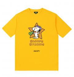 Snoopy Tshirts Girls Black Shirt