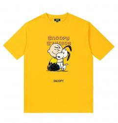 Snoopy Shirt Boys Yellow Shirt
