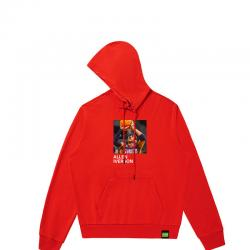 Allen Iverson Hooded Jacket Cool Hoodies For Boys