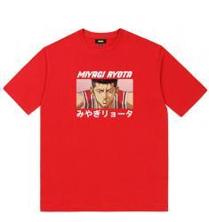 Slam Dunk Miyagi Ryota Shirt Graphic Tees For Teens