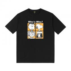 Snoopy Who's Who Tshirts Printed T Shirts For Lovers